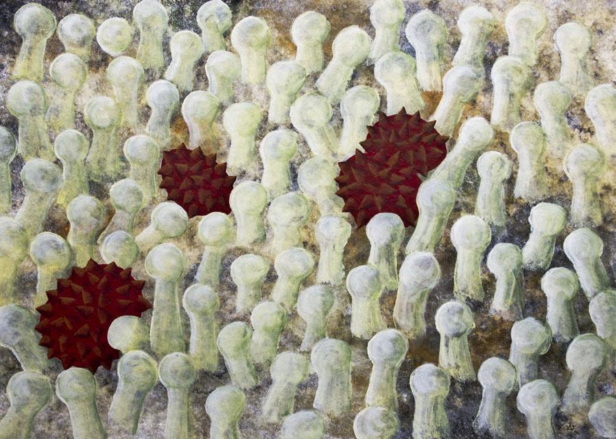 pollen - 1996 - 730x510 mm
